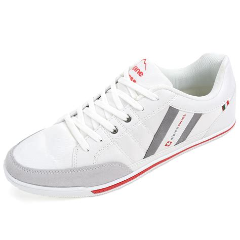 fashionable sneakers for alpine swiss stefan mens retro fashion sneakers tennis