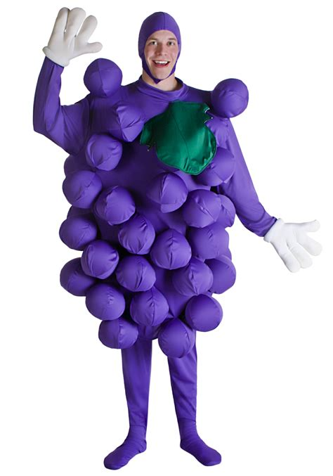 purple grapes mens costume food costumes funny costumes