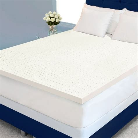 High Density Memory Foam Mattress Topper by Form Plus Ventilated 2 Inch 4 Pound High Density