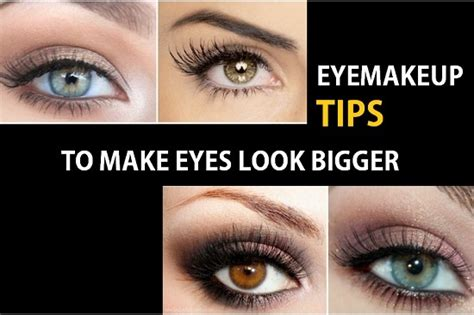 How To Make Your Look - make look bigger with make up tips secrets
