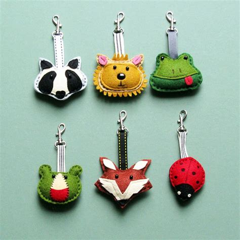 Handmade Keyrings - great keyrings key ring badge ideas