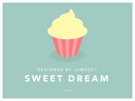 sweet dream powerpoint template by jumsoft graphicriver