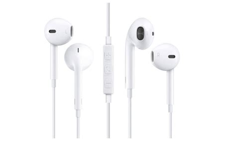 2 pack in ear earbuds for iphone 6s 6 plus 5s 5 4s 4 se ipod 7 8 groupon