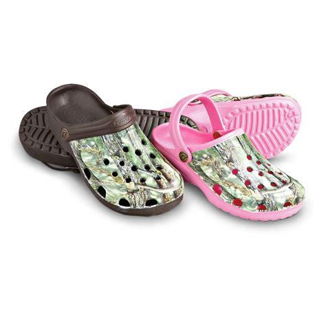 s camo molded clogs pink camo 155778 sandals
