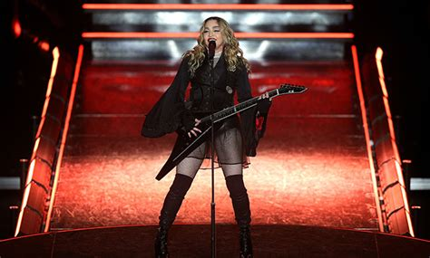 Pulls A Madonna by Madonna Pulls A Fan S Top At Controversial Brisbane Show