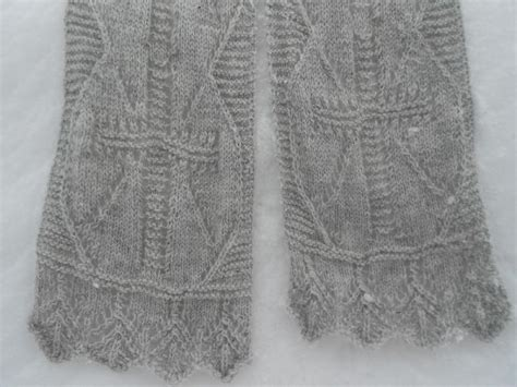 knitting pattern crossover scarf the cross of christ lace scarf knitting pattern by melody