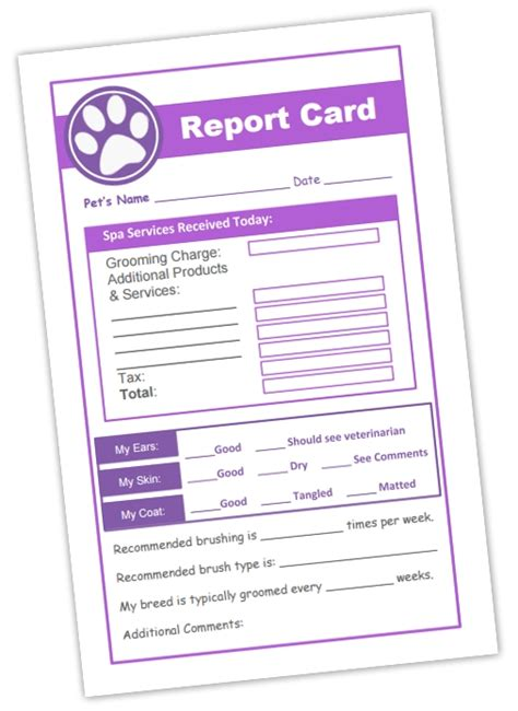 grooming client record cards template grooming record card template 28 images grooming