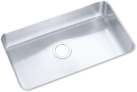 28 inch undermount sink elkay elu281610 28 inch undermount single bowl stainless