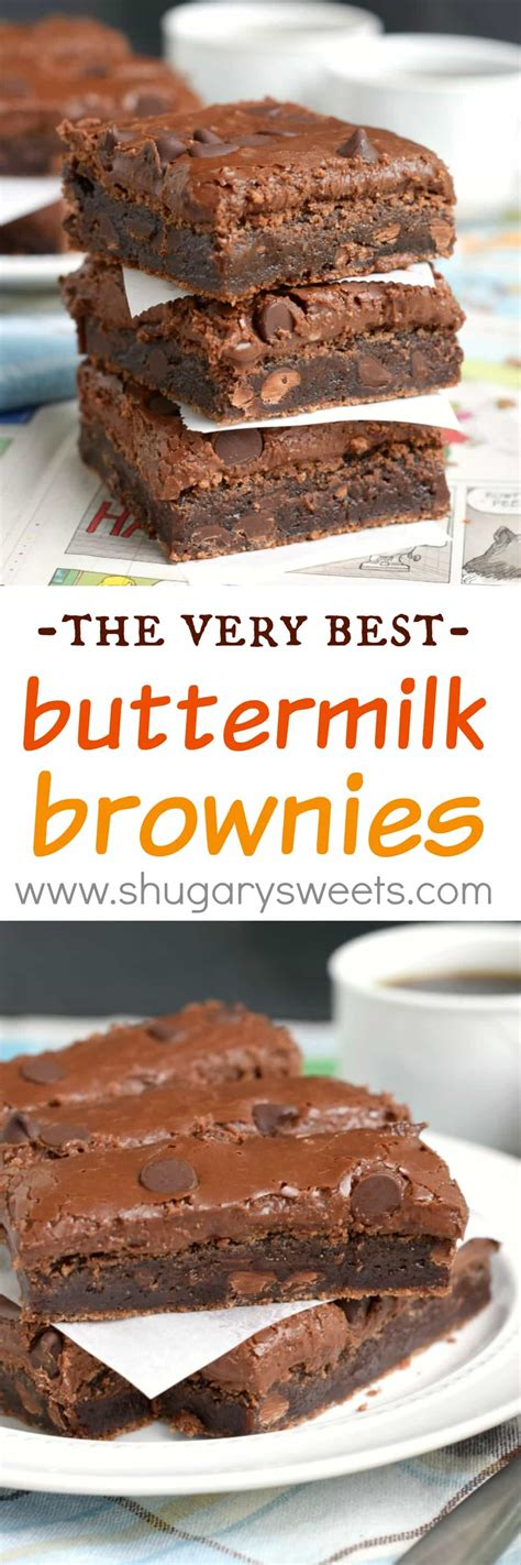 buttermilk brownies shugary sweets bloglovin