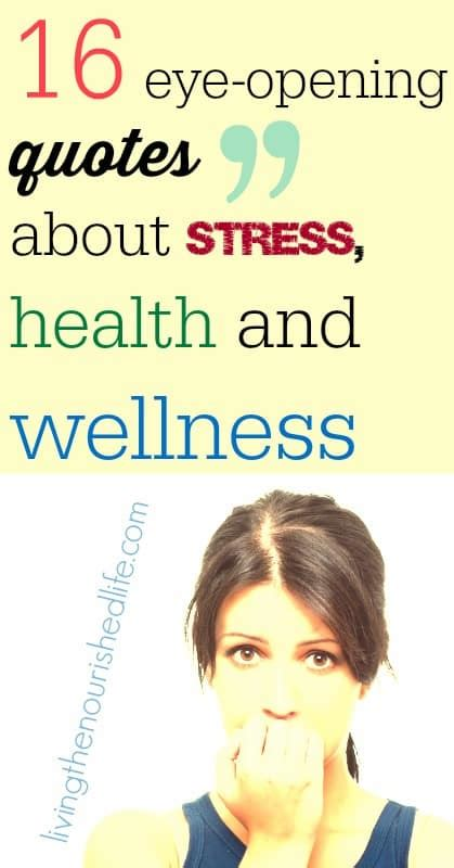 16 Famous Quotes About Stress   The Nourished Life