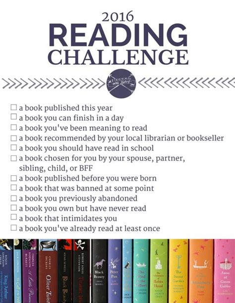 reading contest themes my picks for the 2016 reading challenge a month