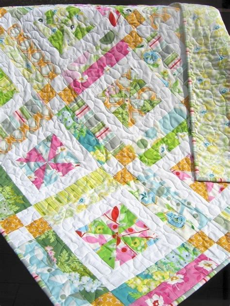 Quarter Quilt Patterns Easy by Quilt Pattern Baby Or Easy One Layer Cake Or
