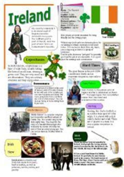 interesting facts about speaking countries quiz on ireland worksheet free esl printable worksheets