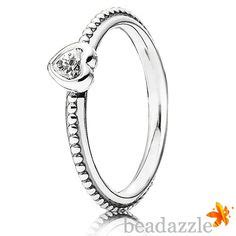 Braided Silver Ring With Cubic Zirconia P 1002 pandora braided silver ring with cubic zirconia 190892cz for sale at beadazzle with free