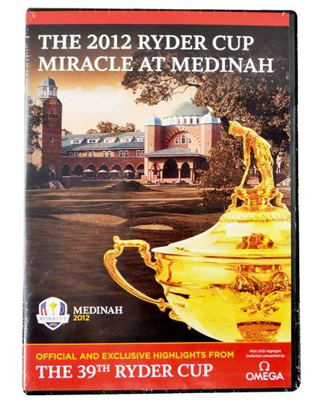 The Miracle At Medinah Cup 2012 The Miracle At Medinah Dvd Golf Dvds