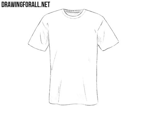 Drawing T Shirt by Shirt Drawing Www Pixshark Images Galleries With A