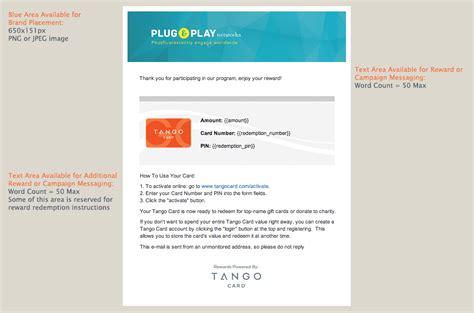 Tango E Gift Card - tango gift cards lamoureph blog