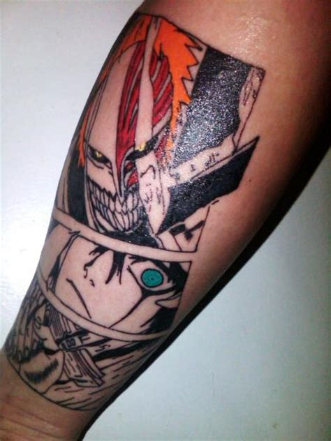 bleach tattoo done by andee by b2nohor71 on deviantart