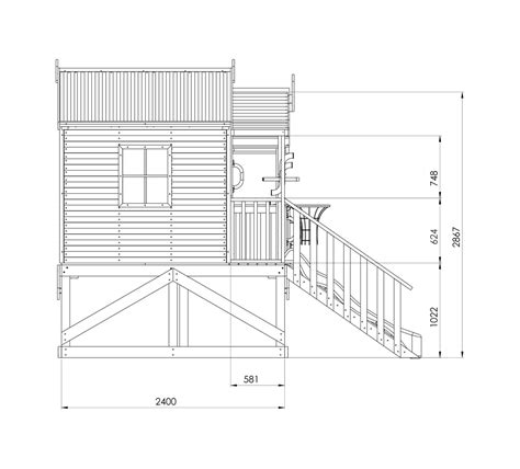Plans For A Cubby House Harrys Hideout Cubby House Australian Made Backyard Playground Equipment Diy Kits