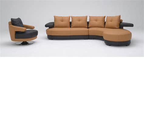 light brown sectional sofa dreamfurniture kk899br light brown and black