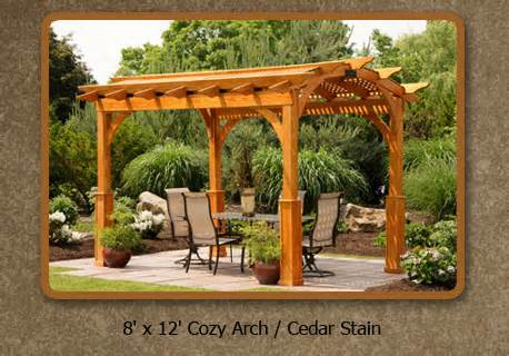 Wood Pergola Kits by Pergola Kit Pergola Kits Creative Gazebos