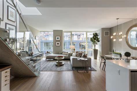 stylish and modern apartments with terrace in new york