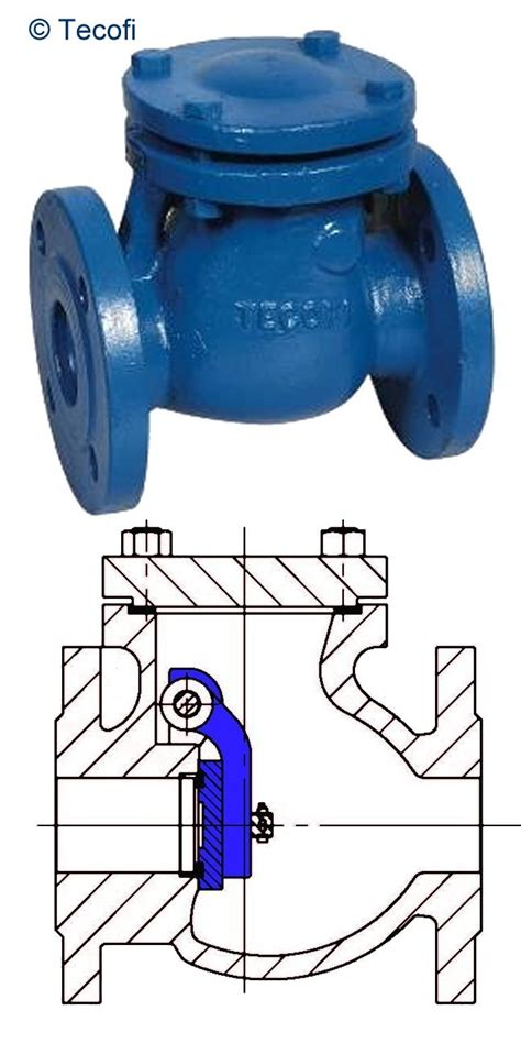 flanged swing check valve tecofi gt check valves gt swing check dn15 dn1000 bronze