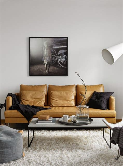 Leather In Living Room by Decordots Living Room