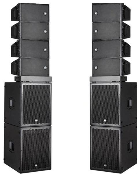 Speaker Line Array Rcf rcf hdl 10a active line array ets hire