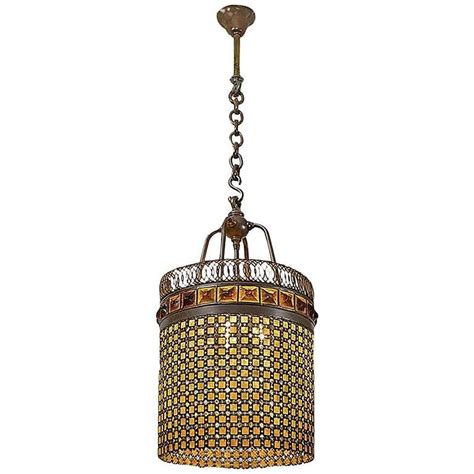 Tiffany Studios New York Quot Chainmail Quot Chandelier At 1stdibs Chandeliers Nyc