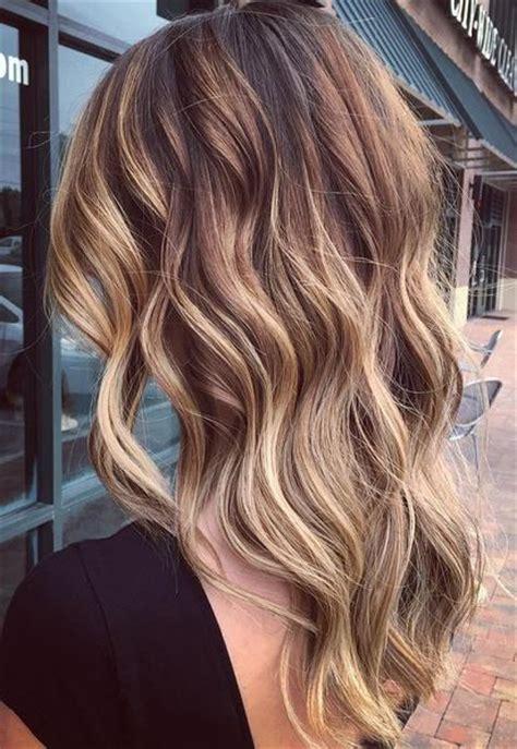 blonde ombre highlights subtle warm balayage ombre caramel highlights pinterest