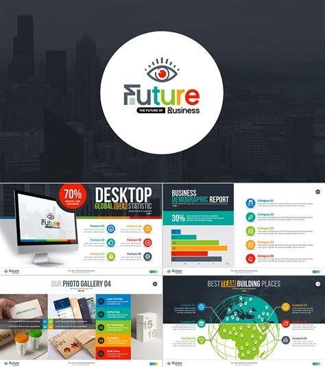 15 Professional Powerpoint Templates For Better Business Presentations Company Presentation Template