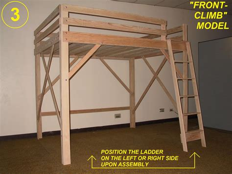 loft bed designs detail bed woodworking plans youth desk radha