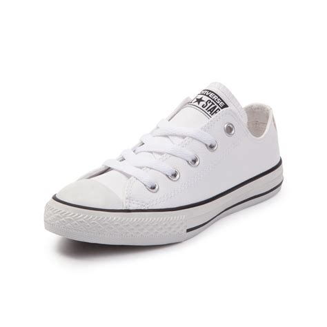 leather converse shoes youth converse chuck all lo leather sneaker