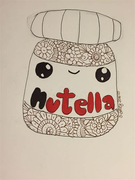 imagenes kawaii de nutella fotos de nutella kawaii