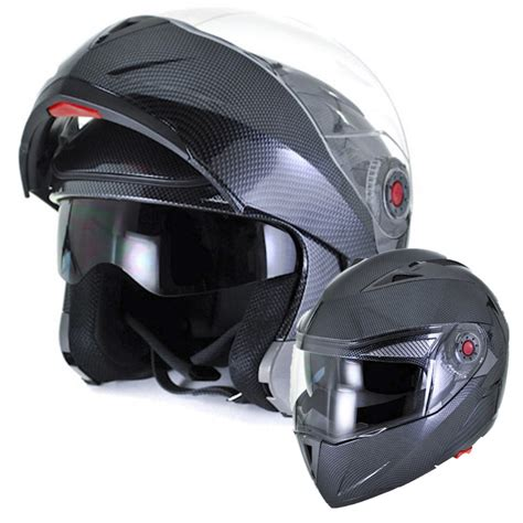 safest motocross helmet ilm motorcycle helmet dot approved carbon fiber with dual