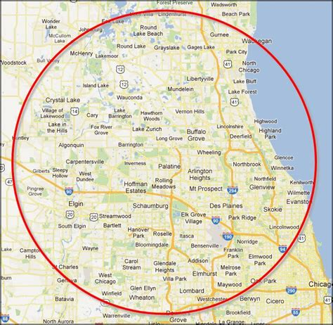 chicago suburb map chicago south west suburbs map hwy lake il