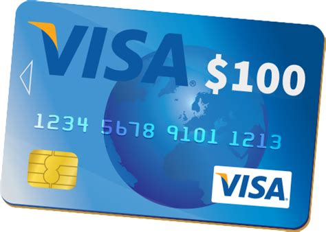 100 Visa Gift Card - visa gift card png www pixshark com images galleries with a bite