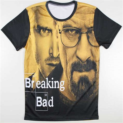 Tees Breaking Bad Diskon high quality tees breaking bad heisenberg t shirts mens