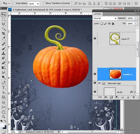 tutorial illustrator halloween halloween card how to create creepy skull with the