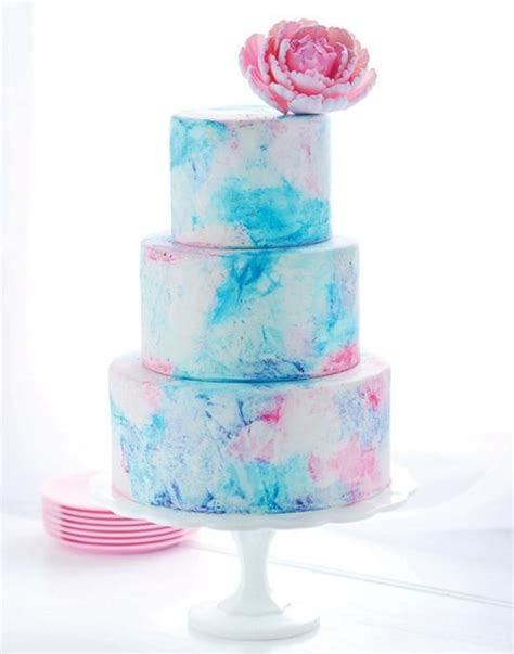 water color cake cake of the day watercolor graffiti cake by sweetapolita