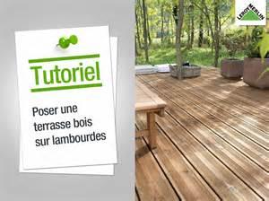 image de terrasse en bois comment poser une terrasse en bois sur lambourdes leroy