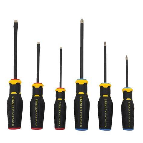 stanley tips stanley fatmax tip screwdriver set tool worker