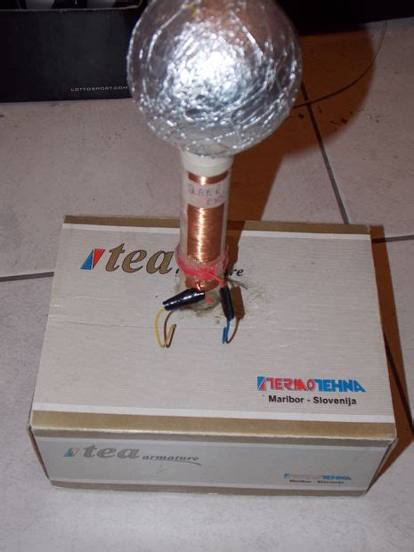 How To Build A Mini Tesla Coil How To Build Slayer Exciter Mini Tesla Coil