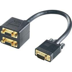 Spliter Vga Kabel podłączenie dw 243 ch urządzeń do jednego monitora elektroda pl