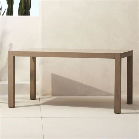 Rectangle Wood Dining Table Wooden Brown Rectangle Outdoor Dining Table