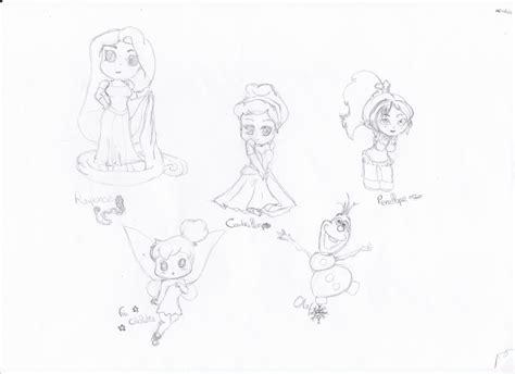 Dessin Chibi Disney Pens 233 Es Et Dessins D Une 194 Me