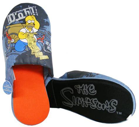 the simpsons slippers new mens homer novelty slipper the simpsons