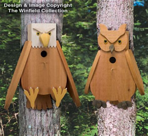 owl bird house plans birdhouse feeder plans archives doug s woodcrafts patterns