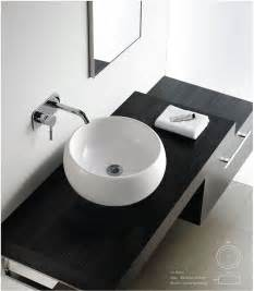 contemporary modern ceramic cloakroom basin bathroom